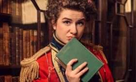 Isobel McArthur as Darcy in Pride & Prejudice (sort of)