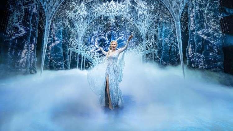 Samantha Barks in Frozen (Photo buy Johan Persson)
