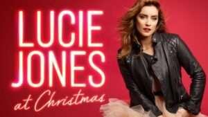 Lucie Jones at Christmas
