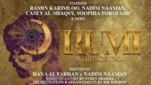 Event Rumi: The Musical London