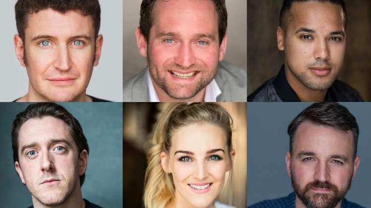 Potted Panto London 2021 cast